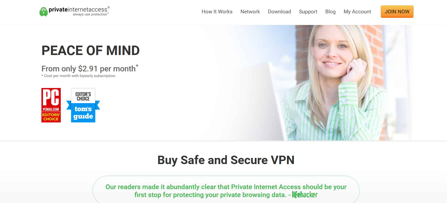 Private Internet Access ( PIA )