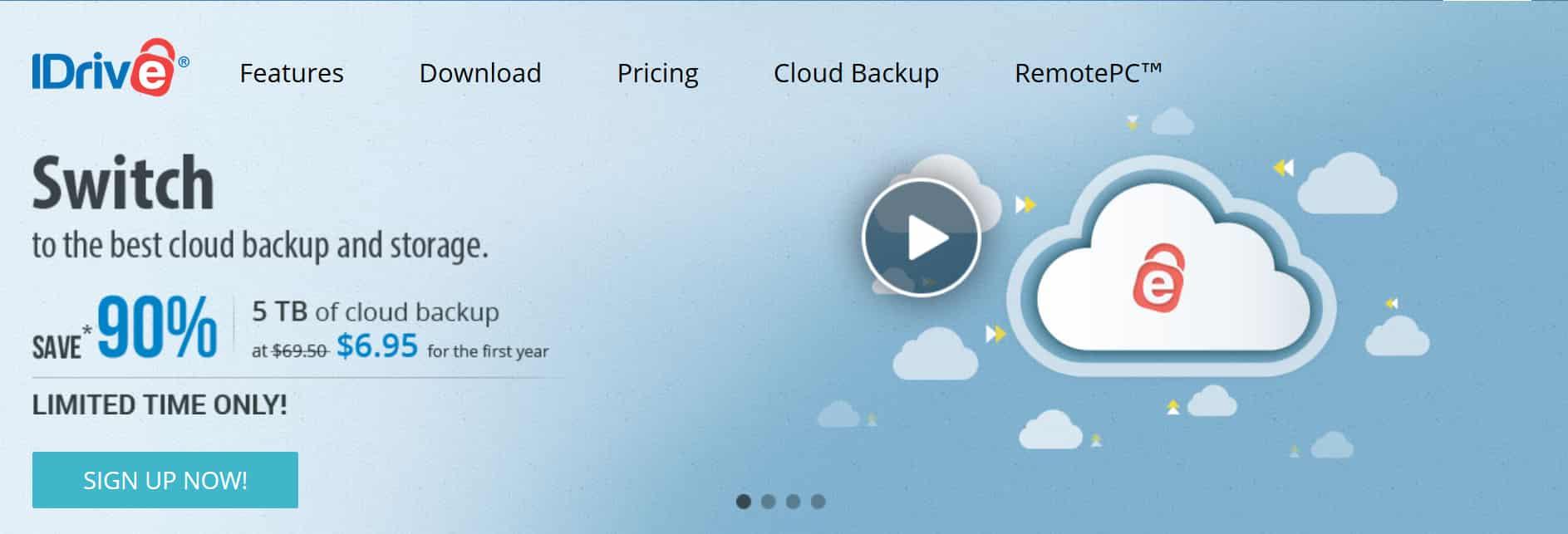 idrive online image backup service