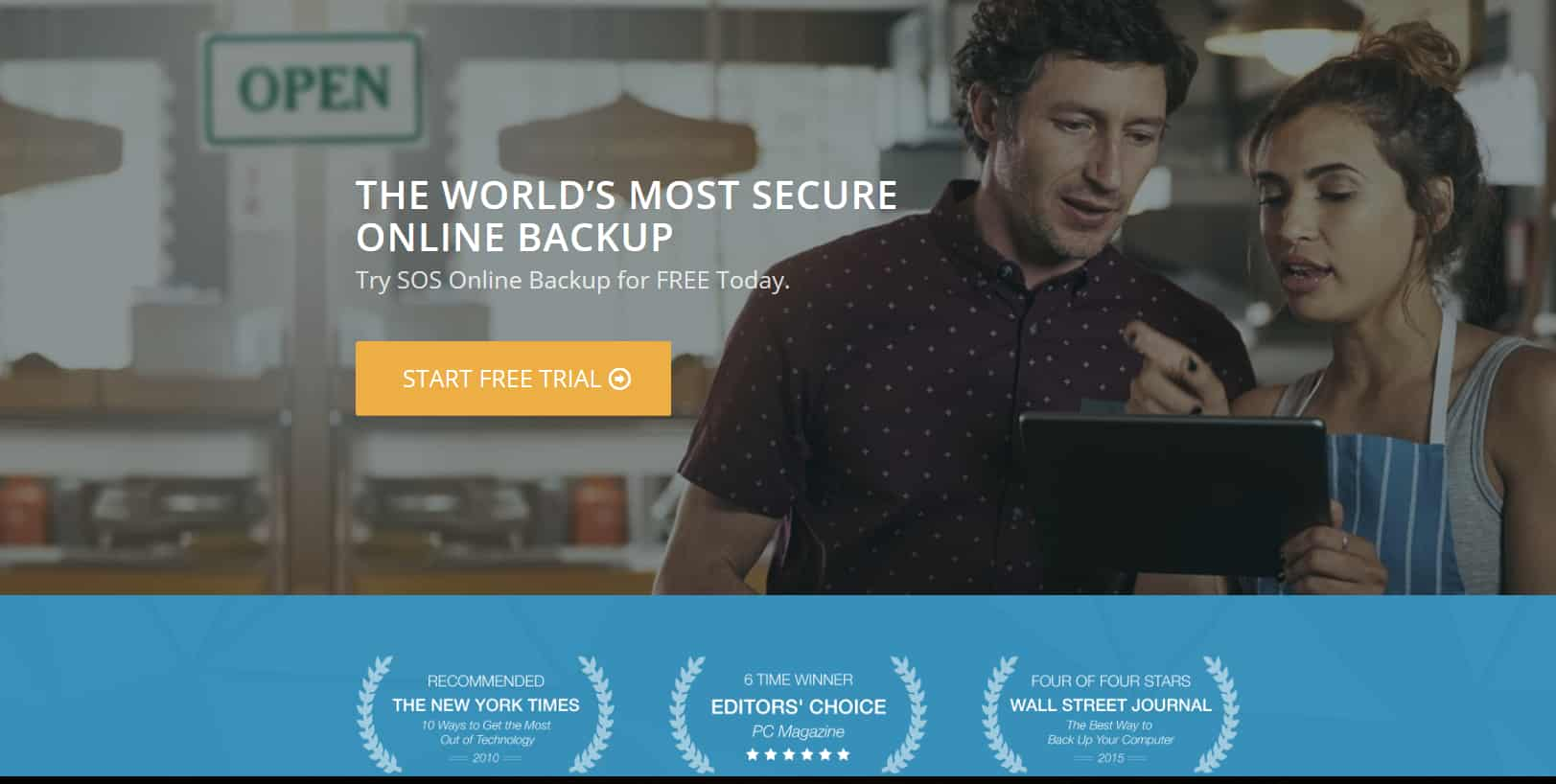 sos photo backup service