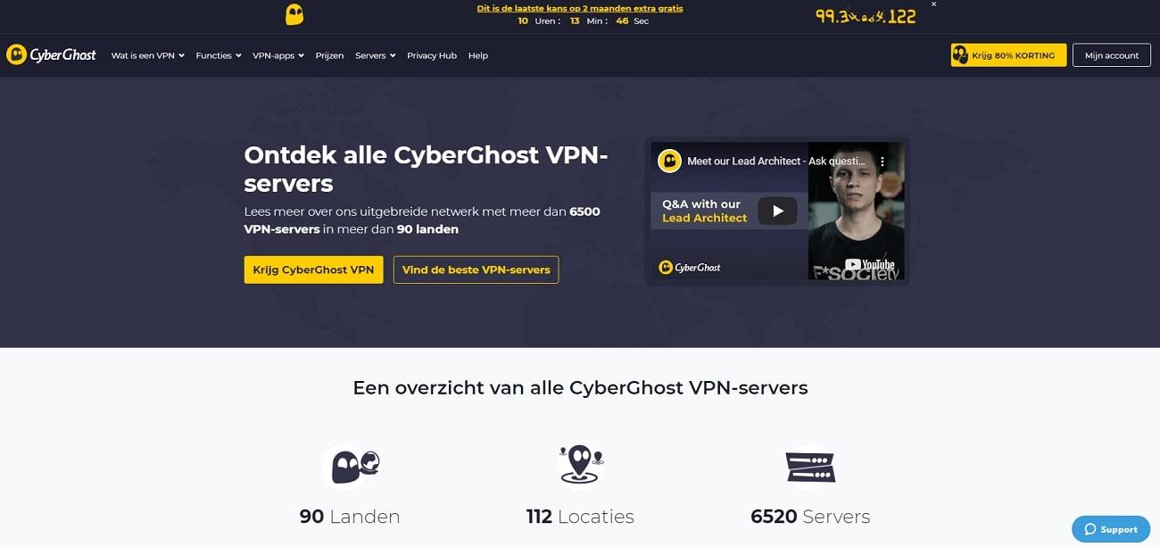 Cyberghost_Server_NL