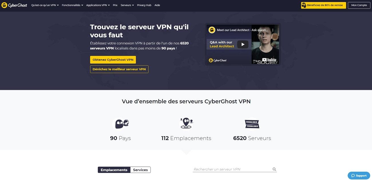 Cyberghost_Server_FR