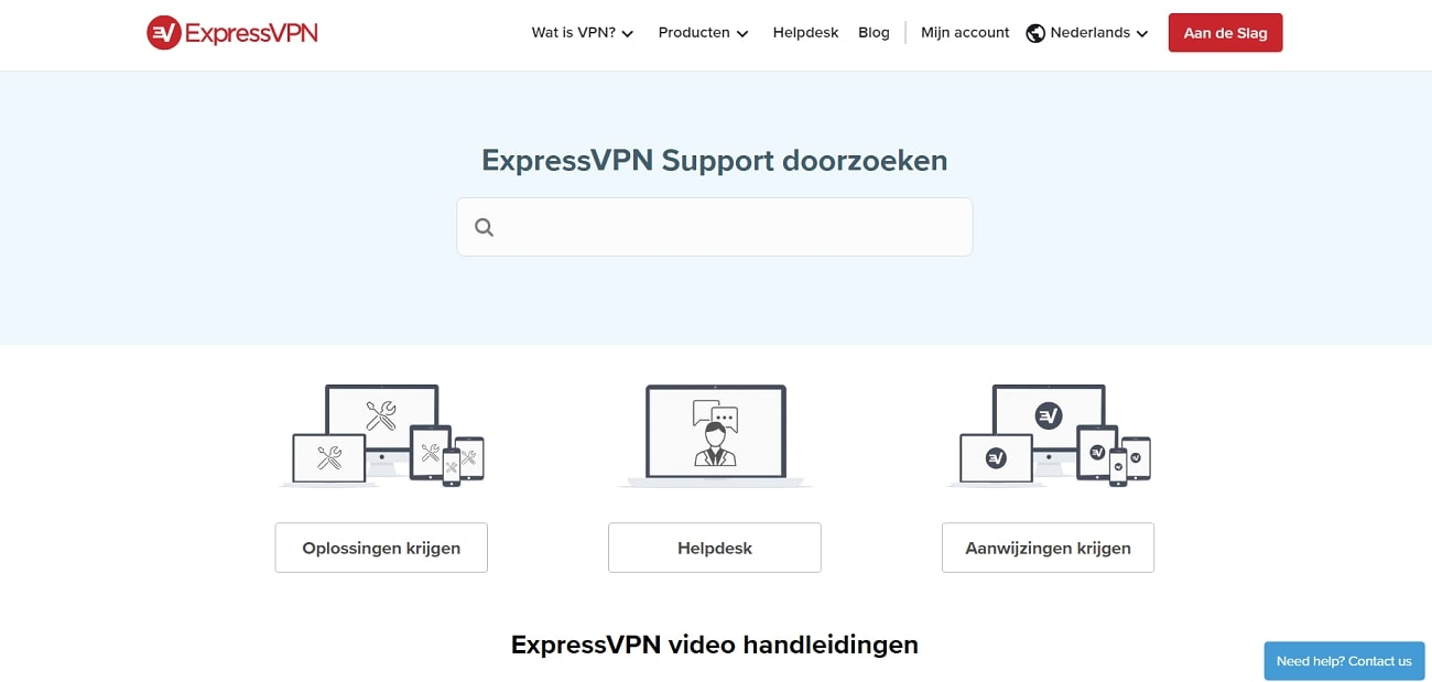 ExpressVPN_Support_NL