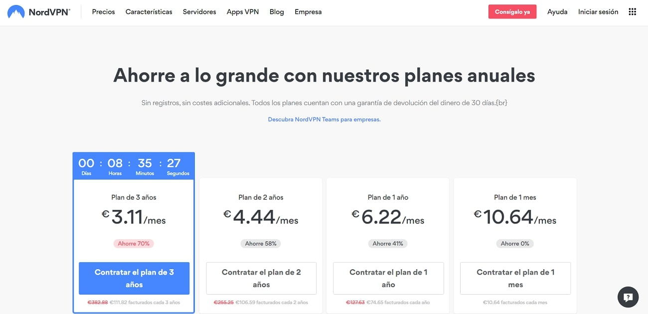 NordVPN_Pricing_ES