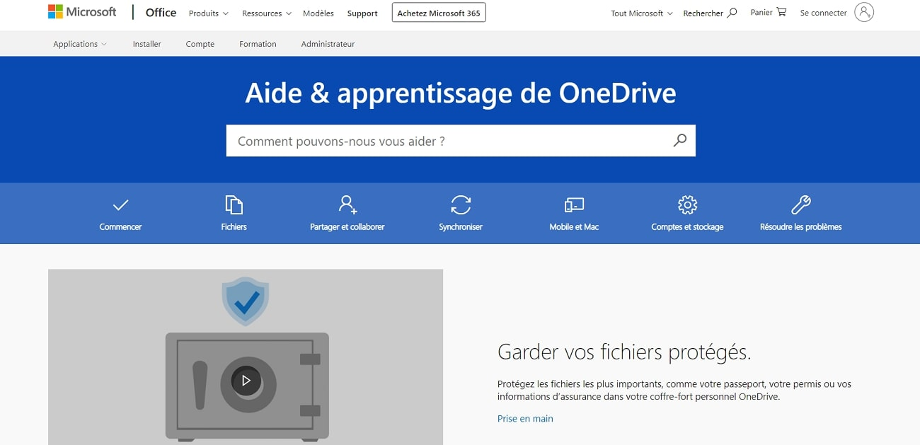 OneDrive_Support_FR