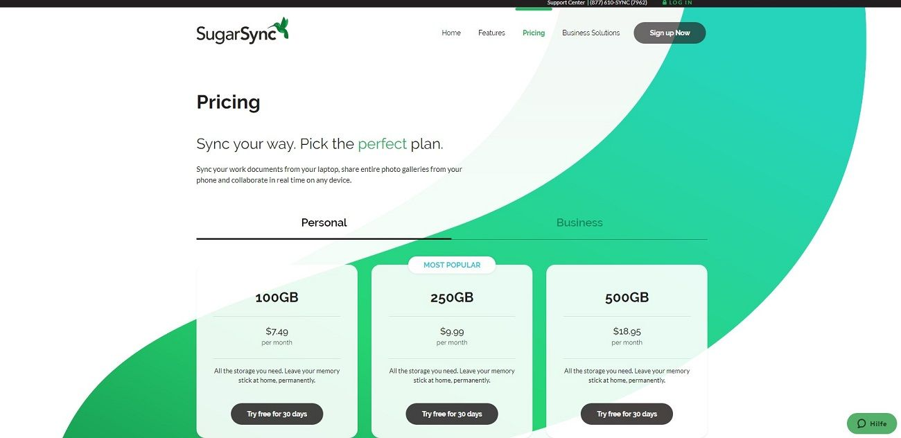 Sugarsync Prices